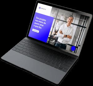 laptop arquiteto site crateradesign